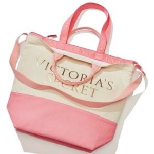 NWT Victoria's Secret Tote + Cooler Bag